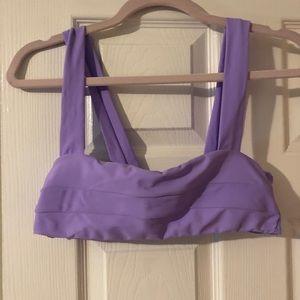 Purple Swim Top